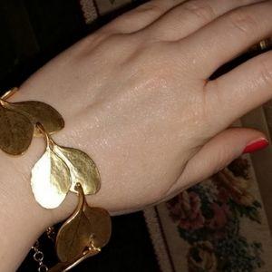 KENNETH JAY LANE Hammered Bracelet